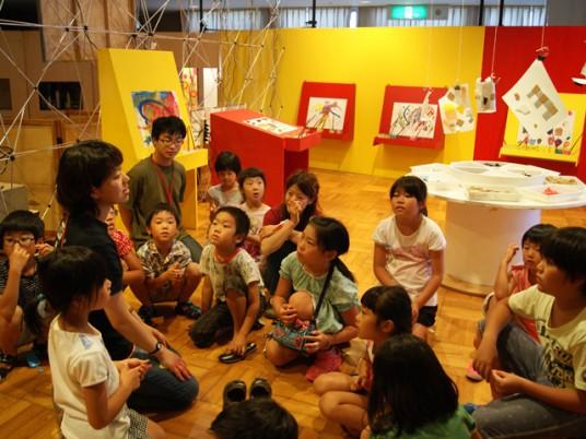 夏季特別企画ビクトル・ダミコinあいち2014「アート・あそび・キャラバン」