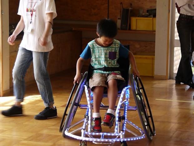 車椅子DJ